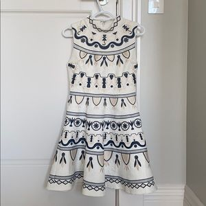 Beautiful dress with sew on detailing size S/M